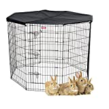 Lucky Dog Pet Exercise Pen with Cover, 48'' x 6'