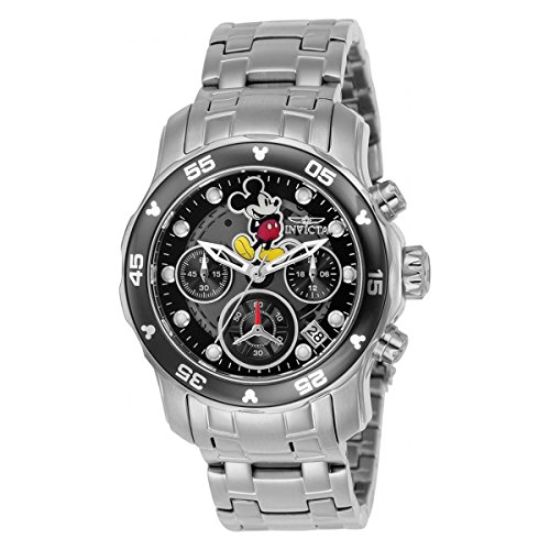 Invicta Disney Limited Edition Chronograph Black Dial Ladies Watch 24132