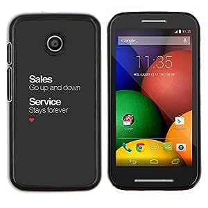 Caucho caso de Shell duro de la cubierta de accesorios de protección BY RAYDREAMMM - Motorola Moto E - servicio post-venta de oficinas de negocios corporativos