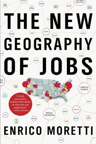 The New Geography of Jobs cover
