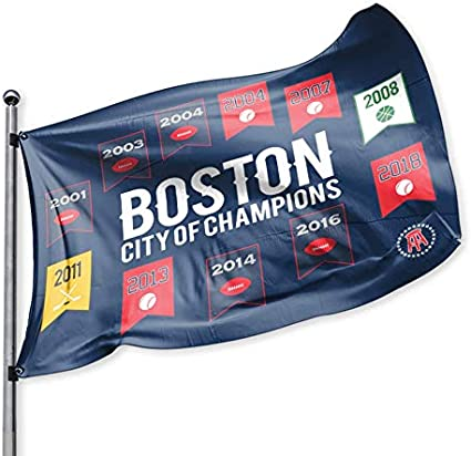 Barstool Sports Boston City of Champions Flag 3x5 Foot banner US Free Shipping