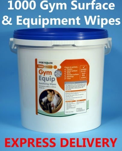 Fitness Equipment Wipes: Gym Equipment Sanitizing Wipes