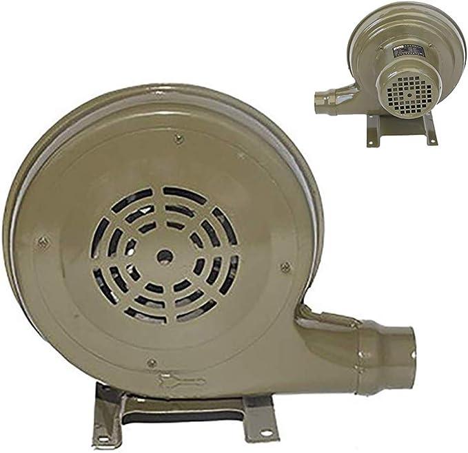 Ventilador eléctrico centrífugo, ventilador portátil para el hogar Parrilla Camping BBQ Ventilador de aire duradero Picnic Barbacoa Herramienta de cocina al aire libre Arrancador de fuego ligero: Amazon.es: Jardín