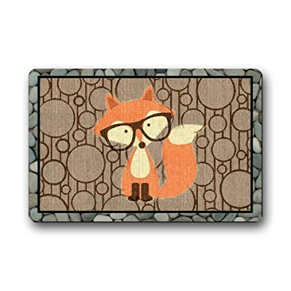 Etonnant Shirleyu0027s Door Mats Decorative Doormats Funny Retro Vintage Welcome Fox  Doormat Durable Heat Resistant Non