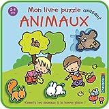 Mon livre puzzle amusant : animaux