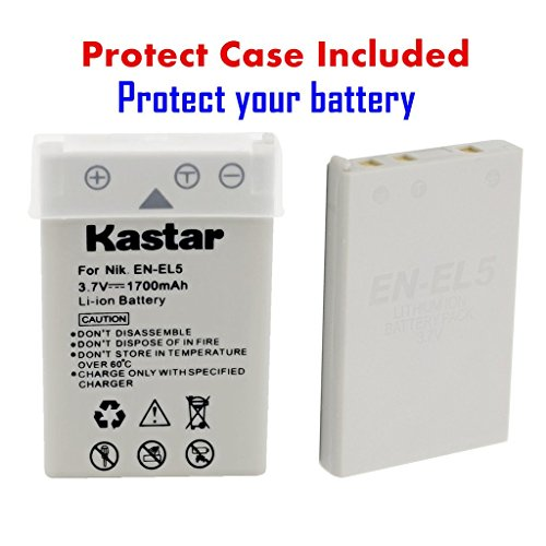 מוצר Kastar Battery 3 Pack Charger Kit For Nikon En