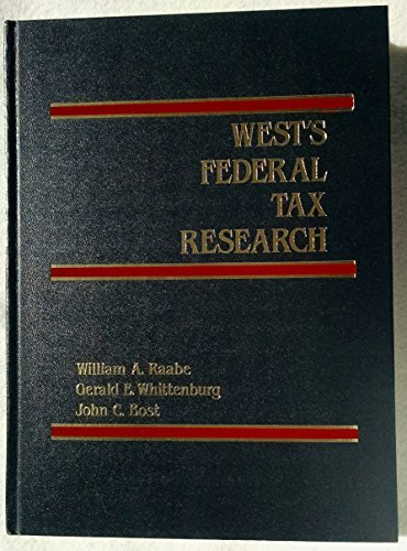 West's federal tax research