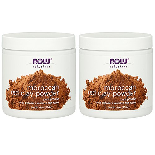 NOW Clay Powder Moroccan 6 Ounce