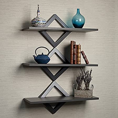 DANYA B 3 Shelf 27.5 in. x 10 in. White