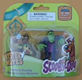 Scooby-Doo Mystery Mates Featuring Frankenstein`s Monster & Sherlock Scooby (2) PVC Figure Set