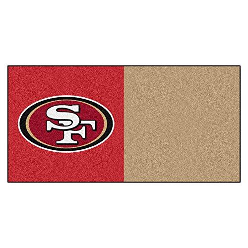 FANMATS NFL San Francisco 49ers Nylon Fa - Nfl Carpet Tiles Shopping Results