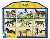 Breyer Stablemates Horse Shadow Box Ten Horse Set (1: 32 Scale), Multicolor