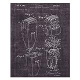 Best Prints Prints Prints Electric Shavers - Empire Art Direct Electric Shaver, Eggplant Review