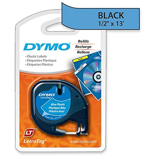 LABEL, DYMO PLASTIC ULTRA BLUE Electronic Computer