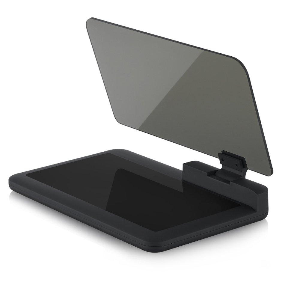 Safego Universal Car HUD Head Up Display Proiettore, Smartphone Cellulare Staffa, Supporto per Auto navigazione GPS X