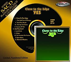 Close to the Edge Hybrid SACD - DSD Edition by Yes (2013) Audio CD
