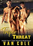 Triple Threat: MMM First Time Hockey Romance