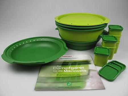Tupperware I101 Micro gourmet de vapor Micro + al vapor + 6 moldes ...