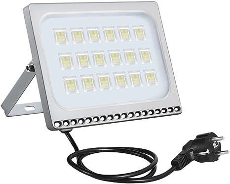 LED Fluter 10W 20W 30W 50W 100W mit Bewegungsmelder Außen Garten Lampe Flutlicht