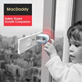 Sliding Door Lock for Child Safety,Baby Proof Closets&Doors,Window Locks for Children,Child-Proof Lock for Patio,Closet,Shower Sliding Doors,Shutters&more,1 Pack,White