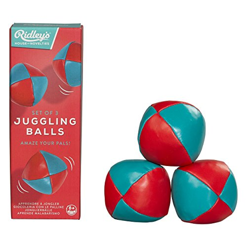 Ridley's House of Novelties Juggling Balls (Set of 3), Multicolor