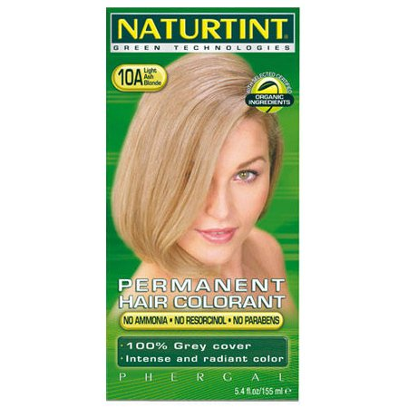 (10 PACK) - Naturtint - Hair Dye - 10A Light Ash Blonde | 135ml | 10 PACK BUNDLE by Naturtint