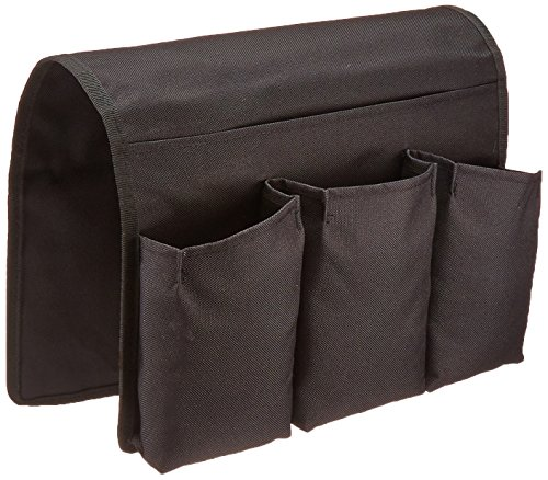 travelwell-arm-chair-caddy-remote-control-holder-organizer-black