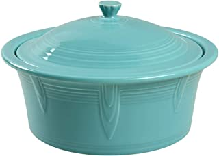 product image for Homer Laughlin Covered Casserole, Turquoise