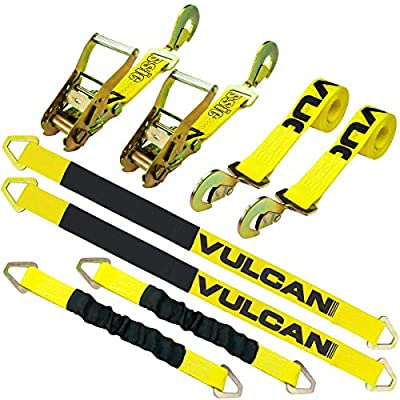 VULCAN Complete Axle Tie Down System: Automotive