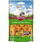 Kaytee Fiesta Healthy Treat for Small Animal, 2.5-Ounce, Papaya Toppings