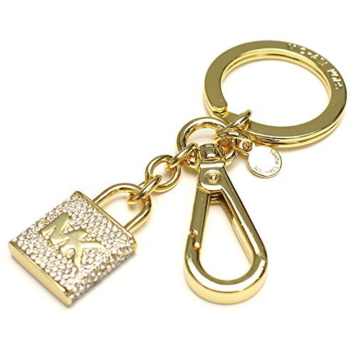 in Pave Lock Key Charms ()