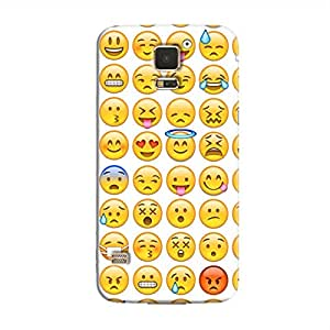 Cover It Up - Smileys Stickers Galaxy S5Hard Case