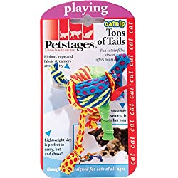 Petstages Tons of Tails Catnip Toy For Cats, Catnip Toy by
