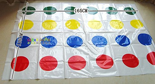 Extra large twister game