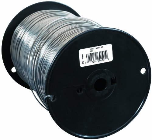 Fi-Shock FW-00008 1/2 Mile, 14 Gauge Spool Aluminum Wire by Fi-Shock (Image #1)