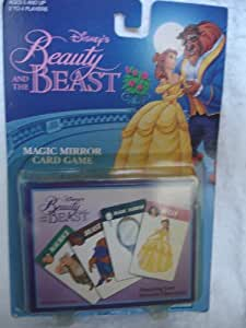 Amazon Com Beauty And The Beast Magic Mirror Card Game