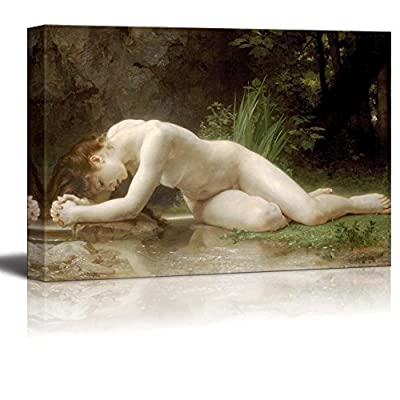 Biblis by William Adolphe Bouguereau Giclee Canvas Prints Wrapped Gallery Wall Art | Stretched and Framed Ready to Hang - 16