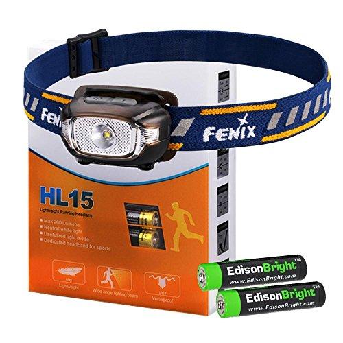 weight Headlamp EdisonBright alkaline battery product image