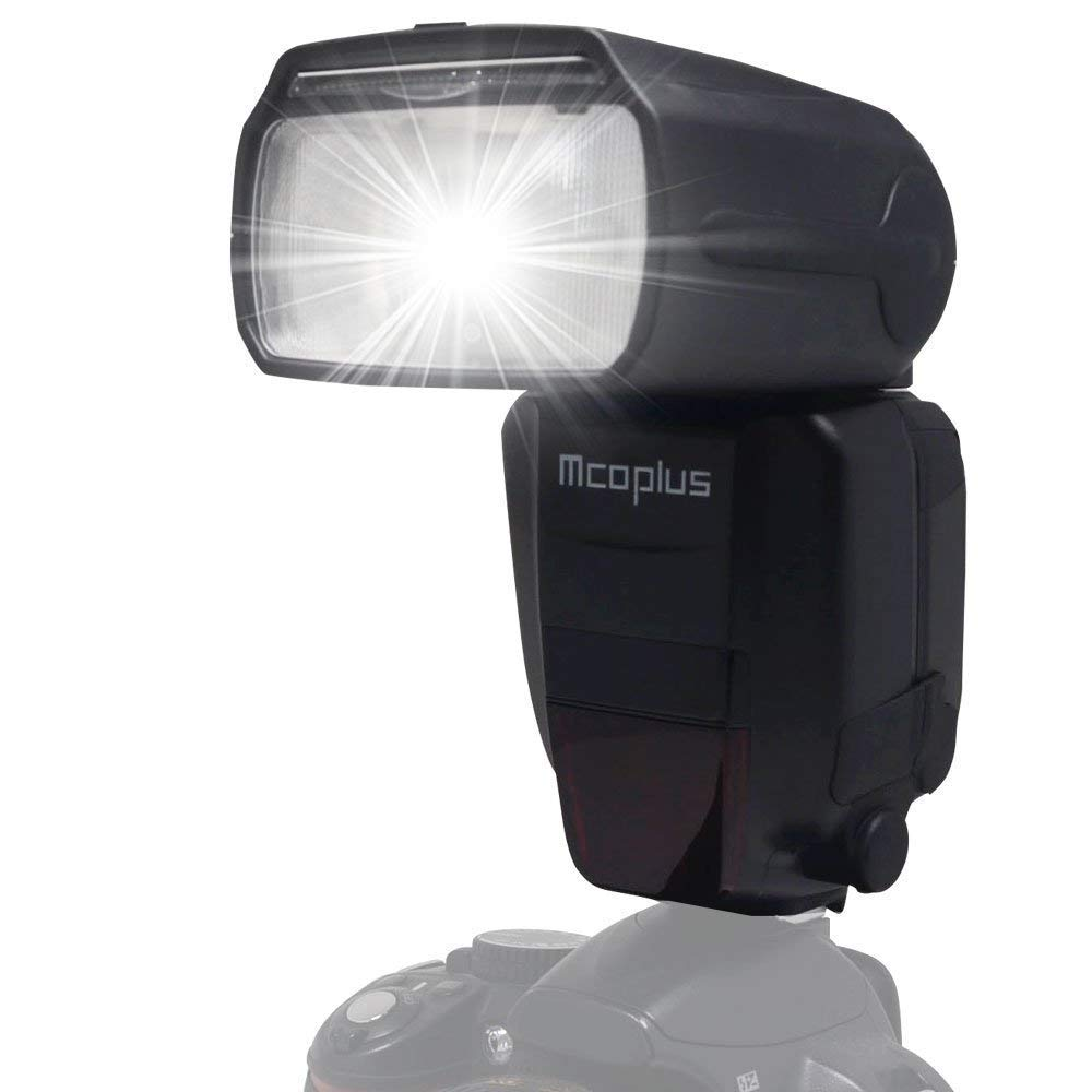 Mcoplus mt600sn gn60 TTLマスタースレーブフラッシュスピードライト高速同期1 / 8000s HSSスピードライトfor Nikon d7100 d7000 d750 d5500 d3000 DLSRカメラとしてSB - 910   B01BDFIPQ6