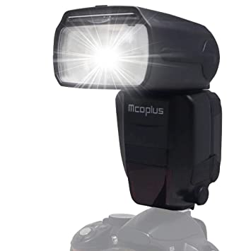 Mcoplus mt600sn GN60 TTL Maestro Esclavo flash Speedlight ...