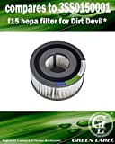 For Dirt Devil F15 HEPA Vacuum Filter (compares to 3SS0150001)....