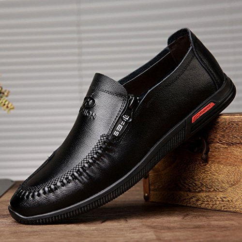 Y Zapatos La Solos Los Pie De De Los Marea Zapatos De Primavera El Hombres Nuevos Británicos Hombres Cuero Casuales Zapatos Zapatos YXLONG Los Zapatos Hombres De Transpirables Los De 2627black Otoño De 8E4w8qPd