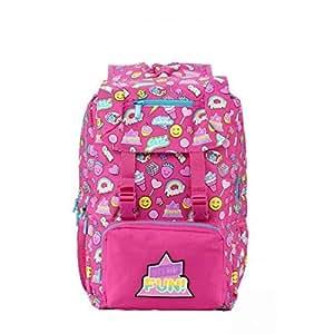 Smily Kiddos Fantasy Fold Over Backpack Pink