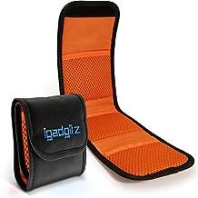 iGadgitz 3 Pocket Lens Filter Bag Pouch Wallet Case For SLR & DSLR Cameras