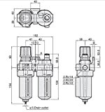 Southern FRL Two Piece Filter Regulator