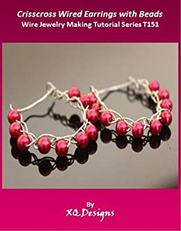 Magnificent Crisscross Wired Earrings With Beads Wire Jewelry Making Tutorial Wiring Cloud Hisonuggs Outletorg