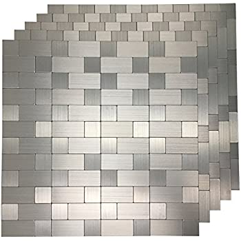 Amazon.com: Top mosaic Peel and Stick Tile for Kitchen, Stick on ...