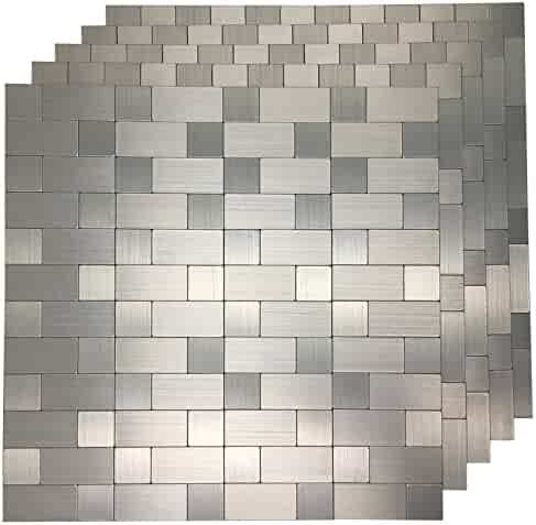 3d wall treatments mid century wall art3d piece peel and stick tile metal backsplash for kitchen silver aluminum surface shopping 3d wall panels painting supplies treatments
