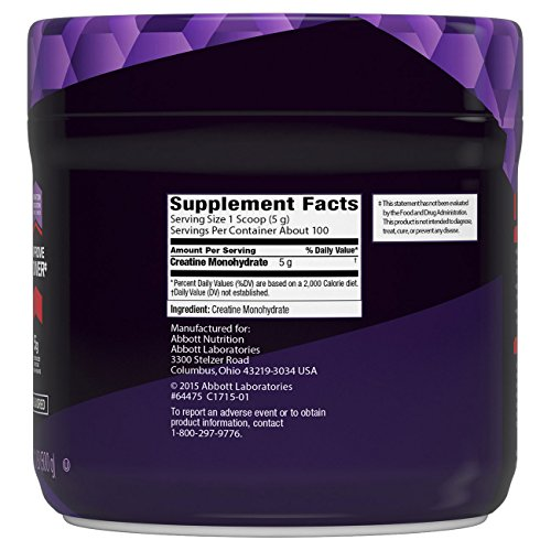 EAS Myoplex Creatine Powder, Unflavored, 1.1 Pound
