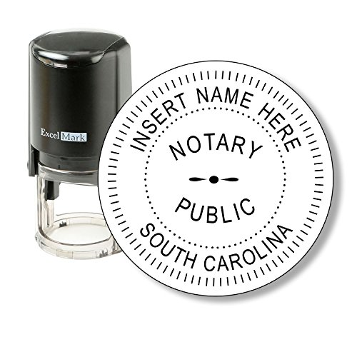 ExcelMark Self Inking Notary Stamp - South Carolina